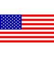 flag USA vector image