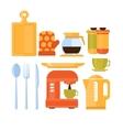 Kitchen Utensils Set vector image