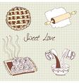 Sweet baking vector image