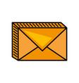 message mail envelope image vector image