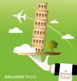 Exclusive Pisa vector image vector image