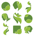 eco collection vector image vector image