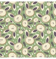 Rabbits Abstract seamless background vector image