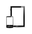 smartphone and tablet vector image vector image