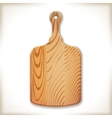Kitchen cutting board vector image vector image