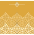 Vintage pattern for invitation or greeting card vector image