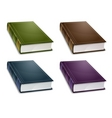 Books color vector image
