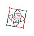 Indian logo vector image
