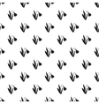 Snowdrop pattern simple style vector image