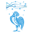 Stylized Chicken vector image vector image
