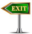 Exit symbol Vector Image
