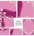 card wedding vector image