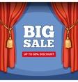 Big sale special offer background for vector image vector image