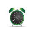 clock ancient green vector image