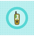 Mobile GPS receiver flat icon vector image