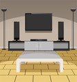 Modern Living Room vector image