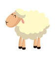sheep manger animal character image vector image