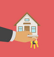 buying or selling a house vector image