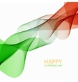 modern saint patrick day background vector image