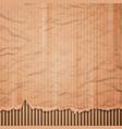 Cardboard texture background vector image