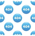 404 sign pattern vector image