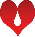 Heart line 03 resize vector image