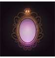 Creepy Mirror vector image