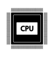 Microchip icon vector image