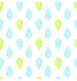 nature plants brush seamless pattern vector image