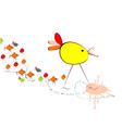 illustration of birds vector image vector image