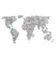 subway world map vector image