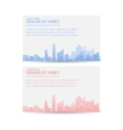 Print city vector image
