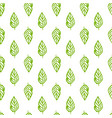 nature plants seamless pattern vector image
