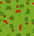 9 May Victory day Seamless pattern Background of vector image