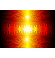 dark red color light abstract technology vector image