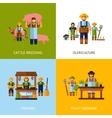 Farmers Design Concept vector image