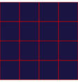 Red Grid Square Royal Blue Background vector image