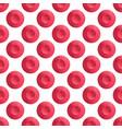 Watercolor seamless pattern red polka dot retro vector image