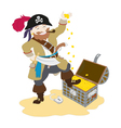 Lucky Pirate vector image