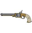 vintage american handgun vector image