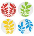plates vector image vector image