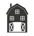stable farm isolated icon design vector image