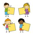 kids design vector image