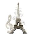 Eiffel Tower vector image