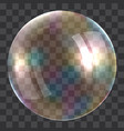light soap bubble concept background realistic vector image