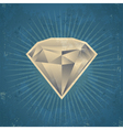 Retro Diamond vector image