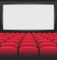interior of cinema movie theatre vector image