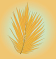 PalmLeaves10 vector image