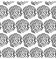 nature tree brush seamless pattern vector image