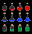 Potion Bottle Design vector image